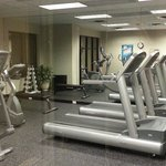 Nice workout area