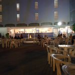Quiet evening at outside bar area :)