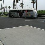 Автобус на территории Дисней Резот