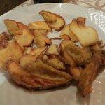 porcini mushrooms fried and crisp