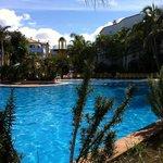 veduta della piscina principale