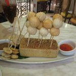 fish ball and squid ball appetizers