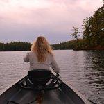 Canoeing Purity Lake