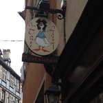 A classic sign in Colmar