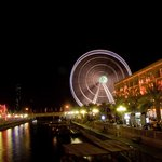 The Ferris Wheel at Qanat Al Qasba