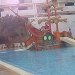 Kiddies swimming pool