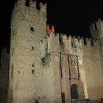 Castello Scaligero visto dal locale