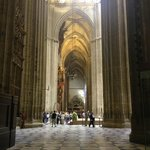 beautiful Seville cathedral.