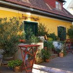 Innenhof des Weinguts