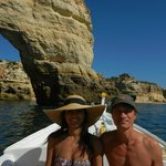 Boat tour from Carvoeiro