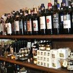 Wine, wine, everywhere.