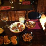 Lovely Tapas - romantic, delicious, sweet, cozy Jazz, precious! Try that! And: all bio / ecologi