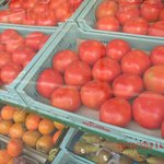 Huge Tomatoes in the local shop