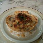 Coquilles St Jacques - Crème et champignons