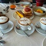 Завтрак в отеле Klass