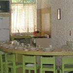 Comedor y cocina de Habitacion