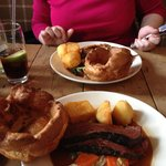 Sunday Roast at the Pig & Butcher  YUM!