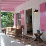 Southe Lodge porch