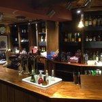 Empty Bar - No staff and no service!