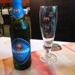Bernard alcohol-free beer at Cerny kun