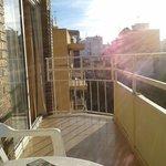 balcony of room 408