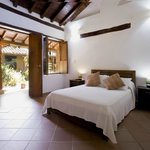 spacious suites with garden views