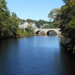 The Contoocook River just down the road from the inn