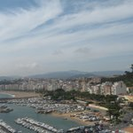 view of blanes marina