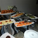 """Our """"Barbecue"""" on our final night at Shamwari in the """"Barn"""""""
