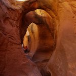 Guests explore a lesser known Slot Canyon...so marvellous