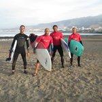 Surfing, windsurfing i kitesurfing