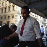 Our waiter, Gado.