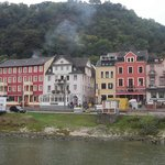 Rheinhotel ST Goar from the KD boat.