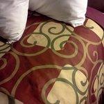 polyester bedspreads!