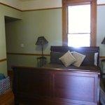bedroom in woood room