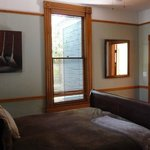 """1 of 2 bedroom in the """"Wood"""" room at PH"""