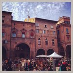 Piazza Santo Stefano ed il mercatino