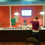 Great treats and pick your toppings. at Yogurt Works!