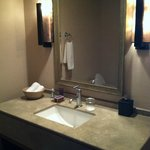 Bathroom (one side- there are two vanities, a very deep tub and a separate large shower stall)