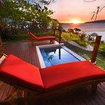Waterfront Villa Deck