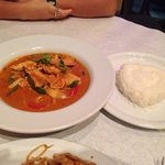 Red curry.