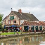 Barge Inn from the Canal