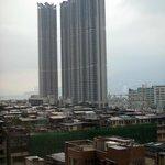 香港ではめずらしく高い建物が少ない地区