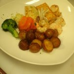 back by demand...the seafood sampler...waterside restaurant