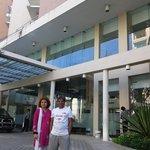 The front of Longbeach Hotel,  Cox's Bazar