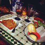 Amazing sangria and pallella