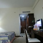 Spacious room, itchy beddings