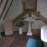 The attic room bathroom