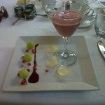 One of the breakfast courses
