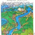 Map of Lake Como New York Times 25-06-2006